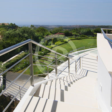 Architectural photography in Marbella with sea views