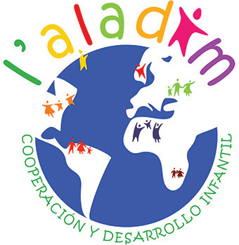 Colourful logo design for a children aid organization