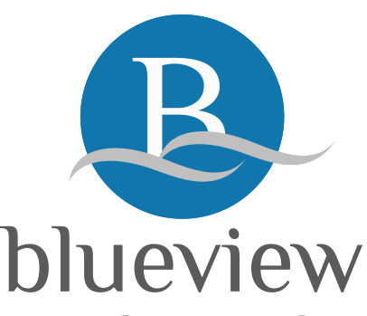 Logo design for BlueView real estate services