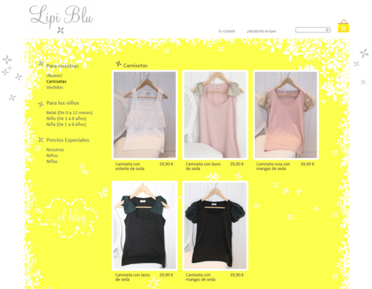 Online shop based on Wordpress and Prestashop with all blogging and e-commerce features