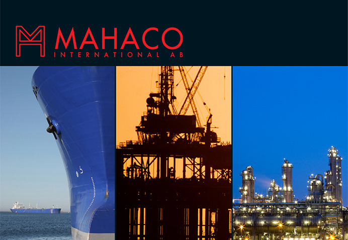 Graphic Design for Mahaco company a product presentation brochure based in Marbella
