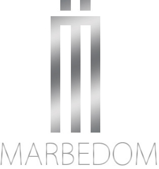 Real estate logo design for Marbedom