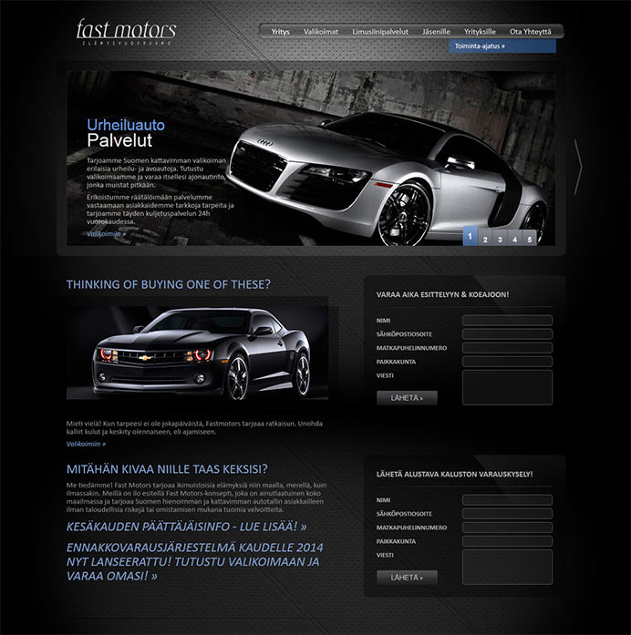 Fast Motors copied website design and our stolen source codes