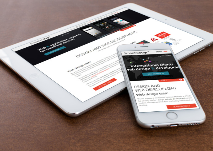 Responsive our development site designs for mobile devices