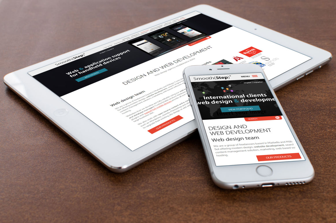 Responsive design for our business site