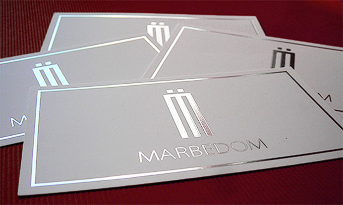 Marbedom business cards