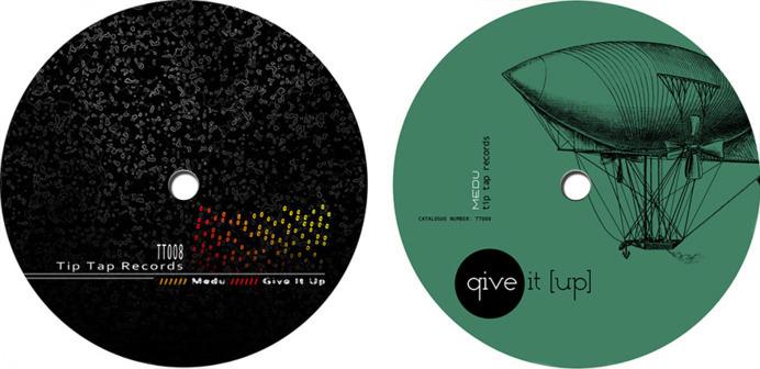 Cover design for Tip Tap records digital album relase