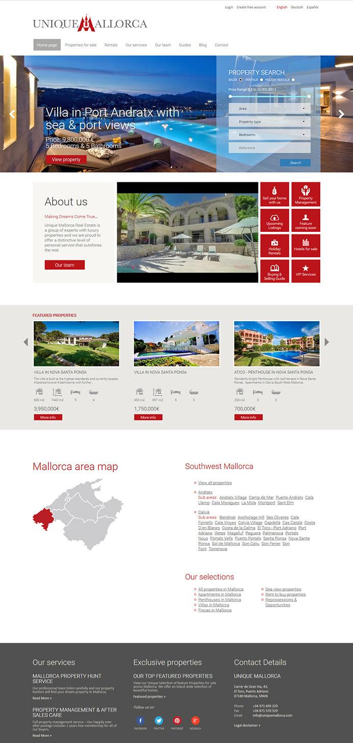 Dise O Y Desarrollo De P Gina Web Inmobiliaria Para