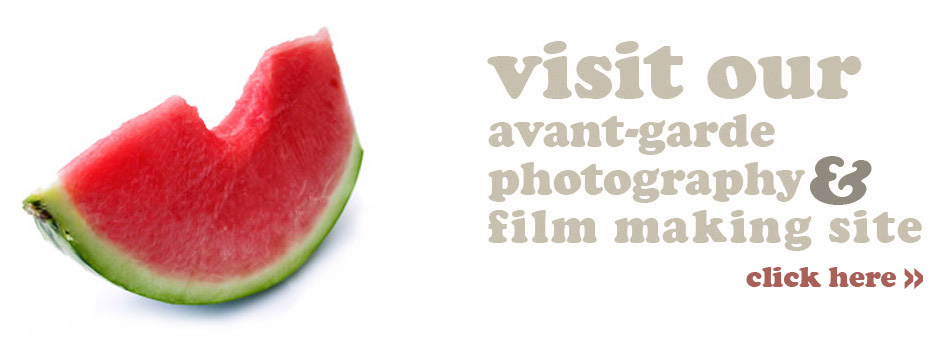 Our avant-garde photography & film making website design
